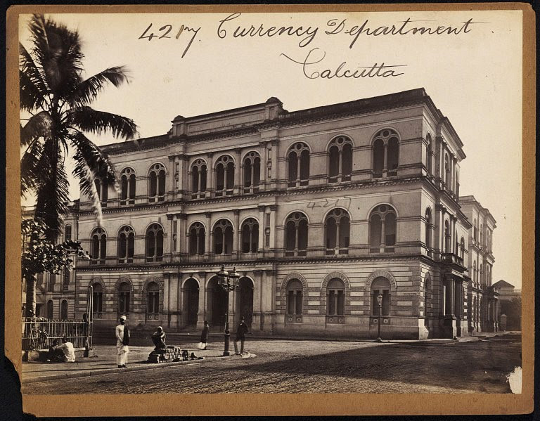 Currency Department Calcutta (Kolkata) - Mid 19th Century