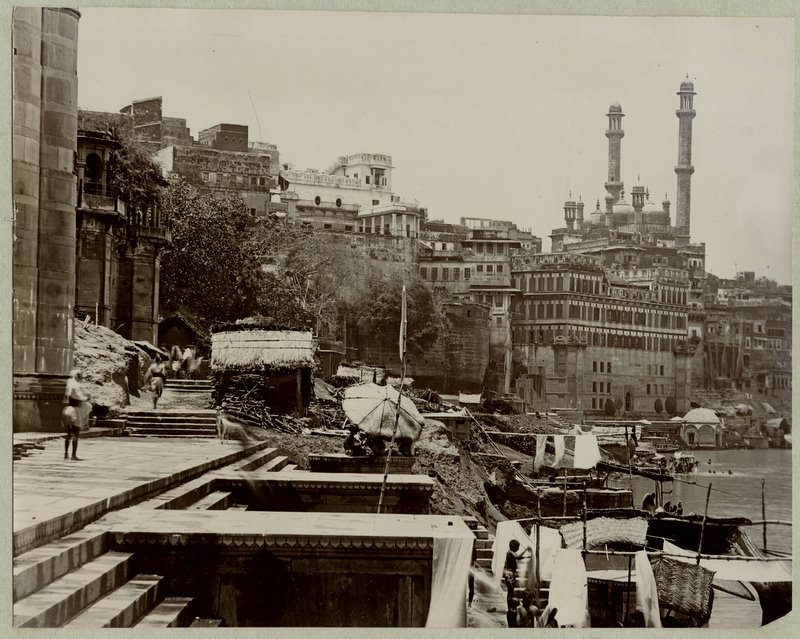 Benares Ghats - India 1890s