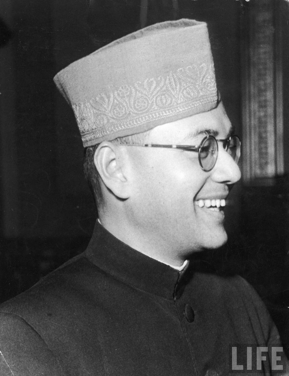 Subhas Chandra Bose in 1940