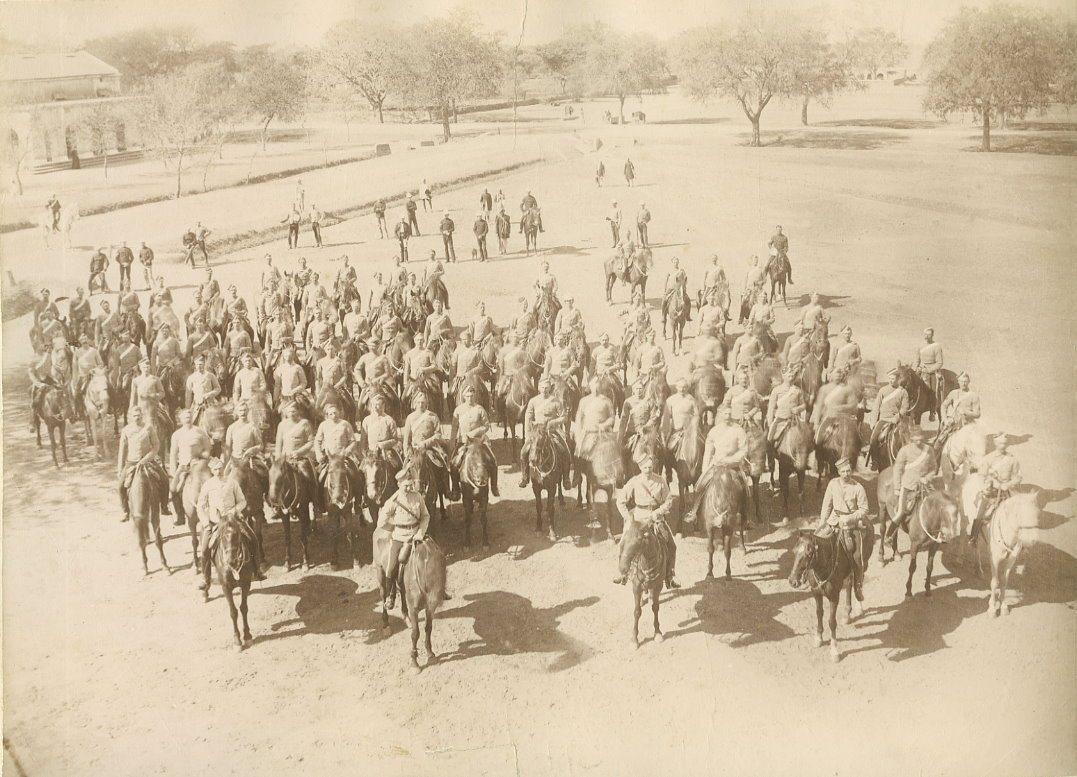 British Army Carabiniers, Sialkot - Circa 1882