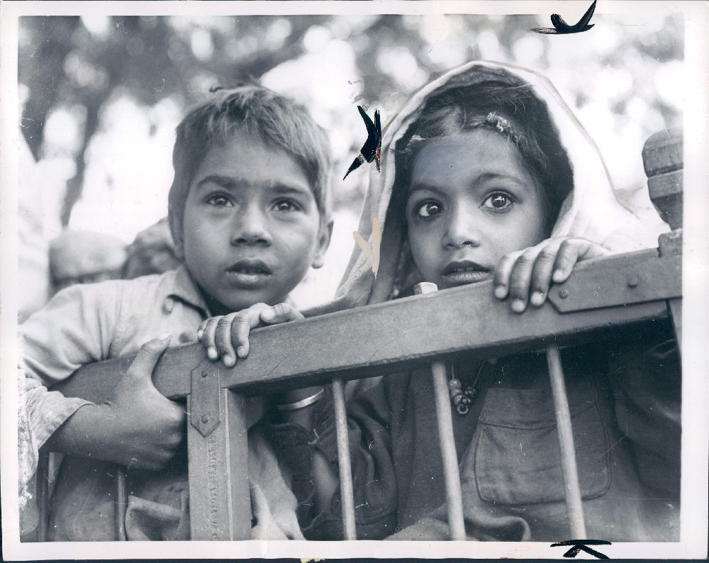 Protrait of Indian Children - New Delhi 1959