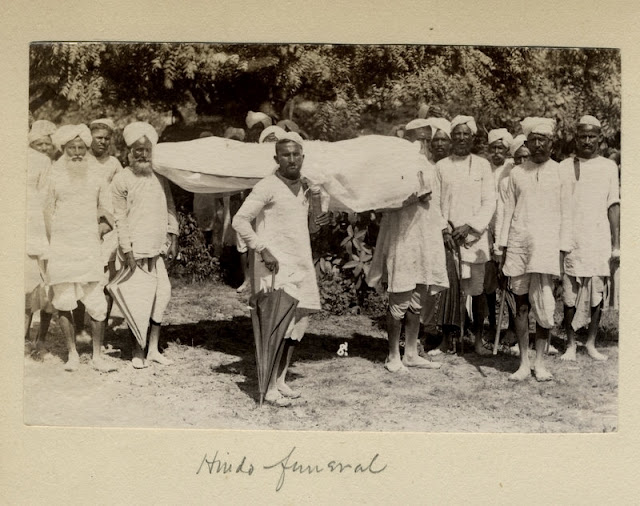 c.1880%2527s+PHOTO+INDIA+HINDU+FUNERAL