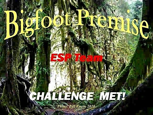 Bigfoot Premise