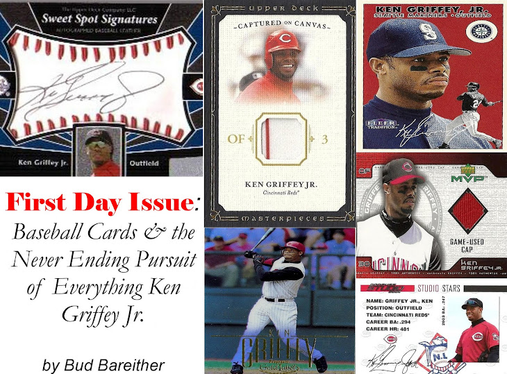 First Day Issue: Baseball Cards and the Never Ending Pursuit of Everything Ken Griffey Jr.