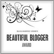 Selo Beautiful Blogger Award
