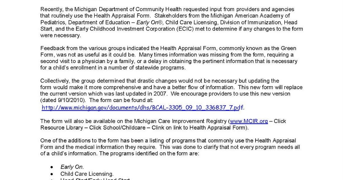 Childcarenetwork: Licensing Form Change & Grant Opportunity