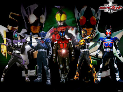 i have buy DVD KAMEN RIDER KABUTO TV SERIES