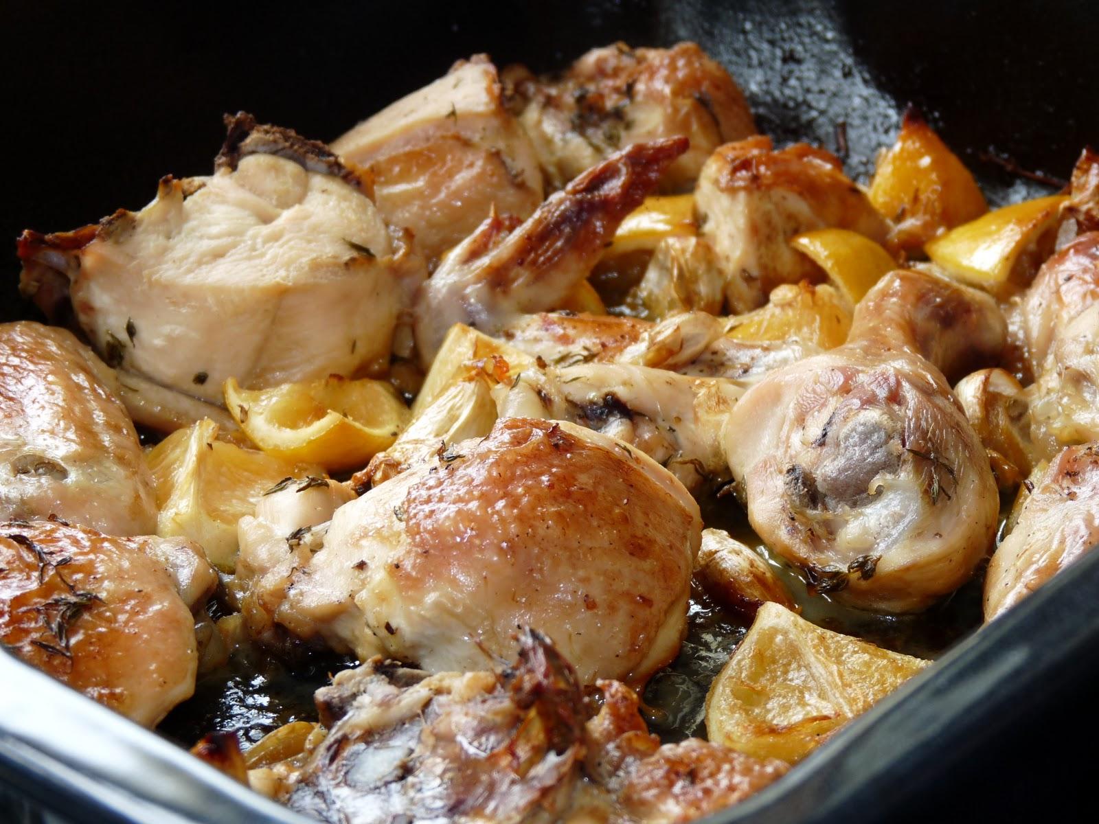 Slow-Roasted Garlic and Lemon Chicken   Nessa's Family Kitchen