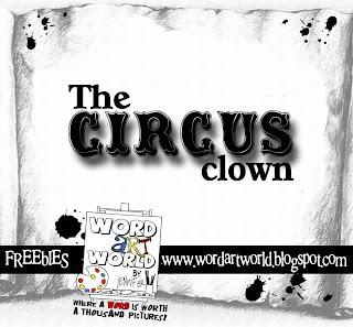 circo - {Kits Digitais} Circo, Palhaço, Patati, Patatá The+circus+clown