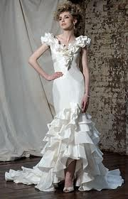 Gorgeous wedding dress flamenco style wedding dress for Flamenco style wedding dress