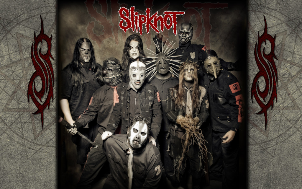 wallpaper slipknot art