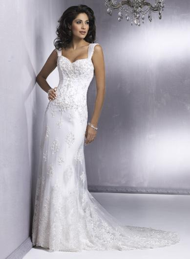 Gorgeous Wedding Dress Sheath Wedding Dress