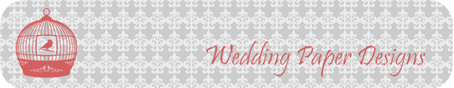 Wedding Paper Designs