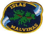 Malvinas - Escudo Islas Malvinas (Color) (1985) (1) varios escudo islas malvinas color
