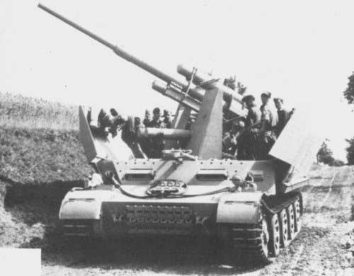 Німецький ранній прототип grille 10 88mm flak