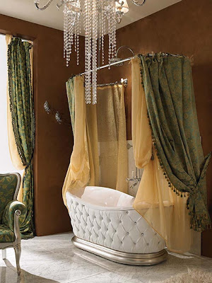 Elegant Shower Curtain - Minimalist Home Design