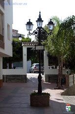 Otivar, Plaza de la Constitución