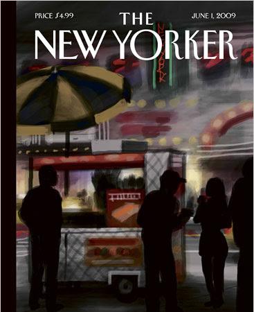 New Yorker'a iPhone ile kapak