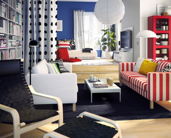 Styling Home Living Room Space Utilization In A 2BHK