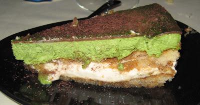 tiramisú de té verd