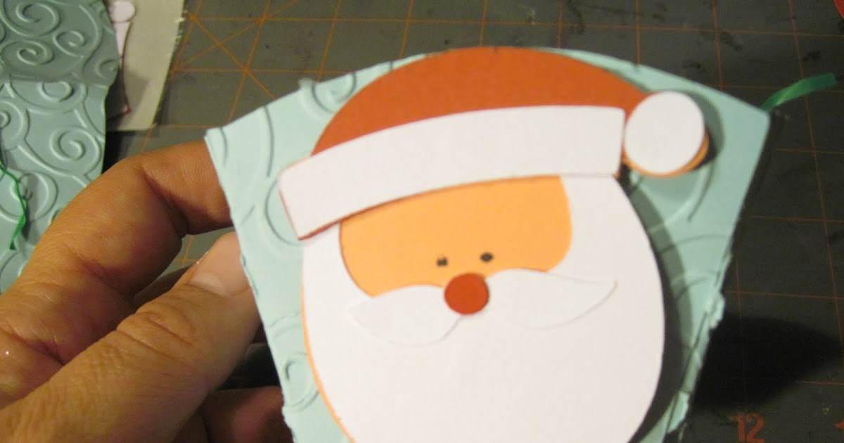 Crazy About Cricut Holiday Projects Santa Cups Cocoa