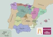 MAPA POLÍTICO DE ESPAÑA. MAPA DE LAS COMUNIDADES AUTÓNOMAS: (mapacomunidad)