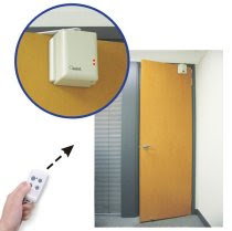 bluetooth door opening