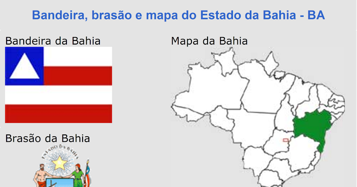 Resultado de imagem para brasao estado da bahia