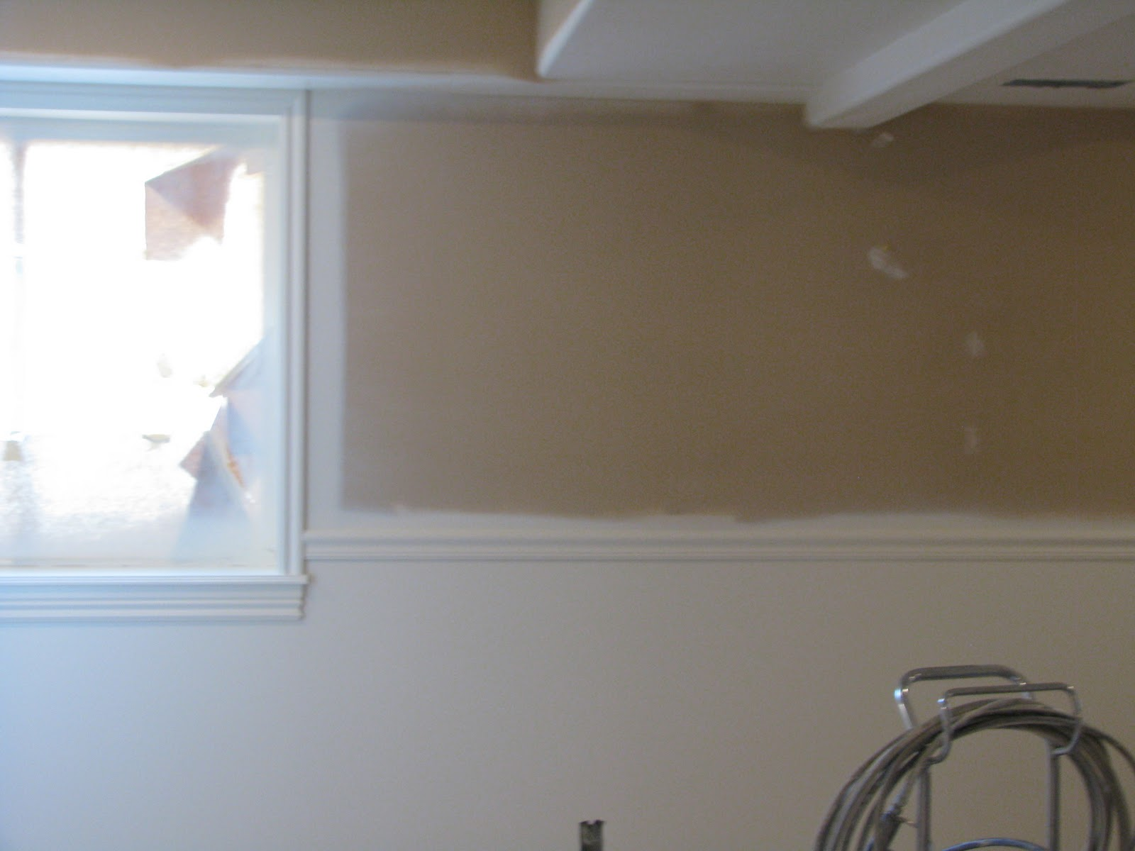sticks and stones home decor painting the basement part 1