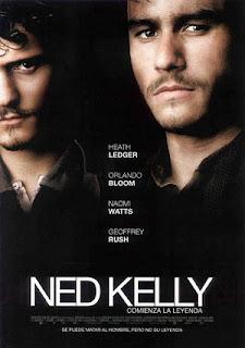Poster de Ned Kelly, comienza la leyenda