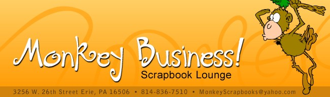 Monkey Business! Scrapbook Lounge