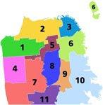 San Francisco District Map