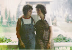 Sitting on the front porch of our home in Minneapolis  - me and my friend Marge a few years after..