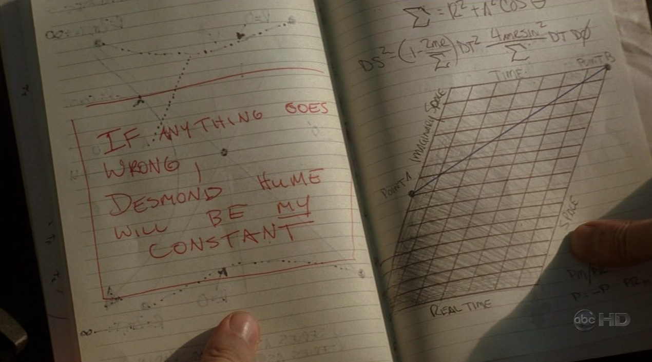 Desmond Hume will be my Constant