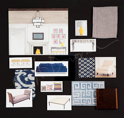 Angela Donovan Photography Interior Design Concept Boards