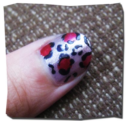 how to do animal print nails. How to Get Leopard Print Nails