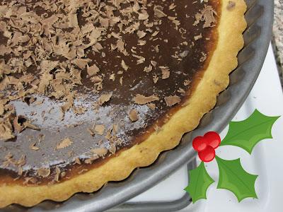 ... Recipes: Alice Medrich's Warm Mocha Tart- Chocolate and coffee Tart
