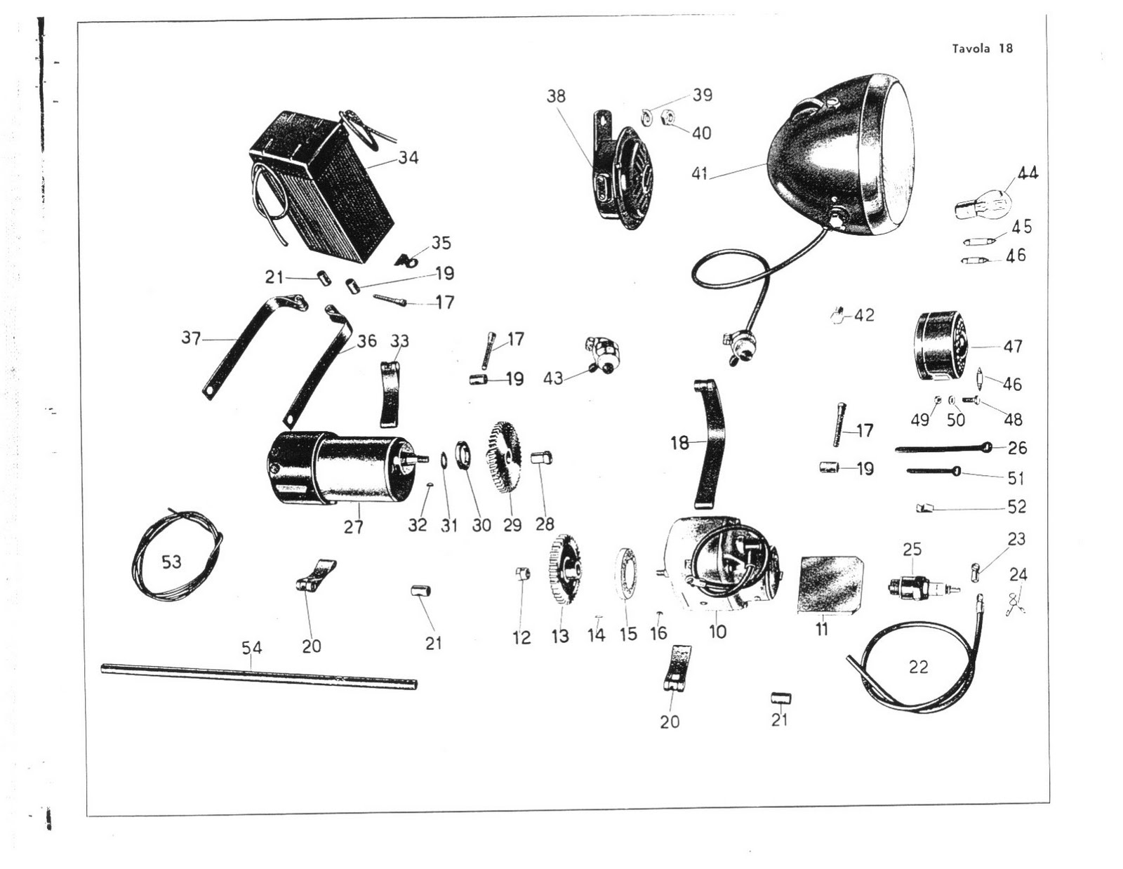moto guzzi super alce restoration  electrics and dynamo