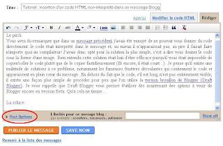 html littéral