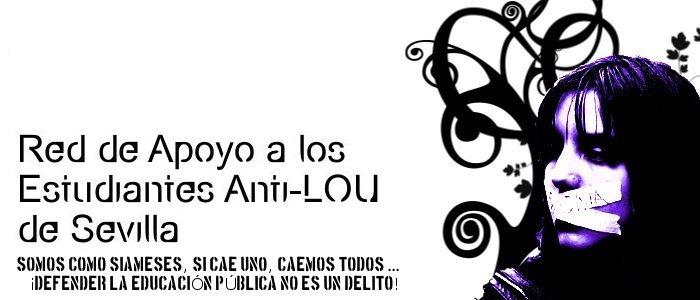 Red de Apoyo a los Estudiantes Anti-LOU de Sevilla