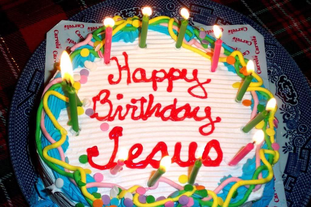 Jesus Birthday Cake Images : ...Happy Birthday Jesus!