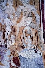 Pinturas góticas en Santa Olalla
