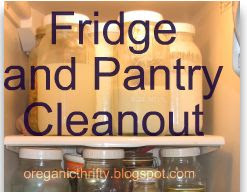 Menu Plan Monday: Fridge & Pantry Cleanout