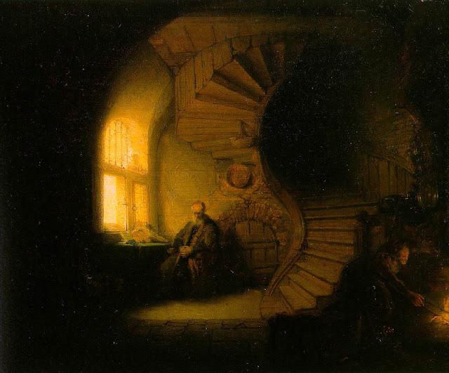 Le philosophe, Rembrandt