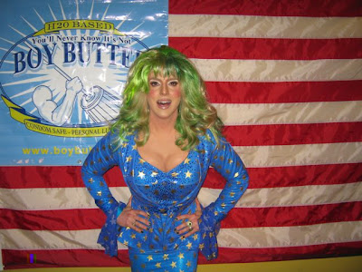 Hedda Lettuce shoots new Boy Butter Ad