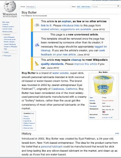 Boy Butter finally lands a page on Wikipedia