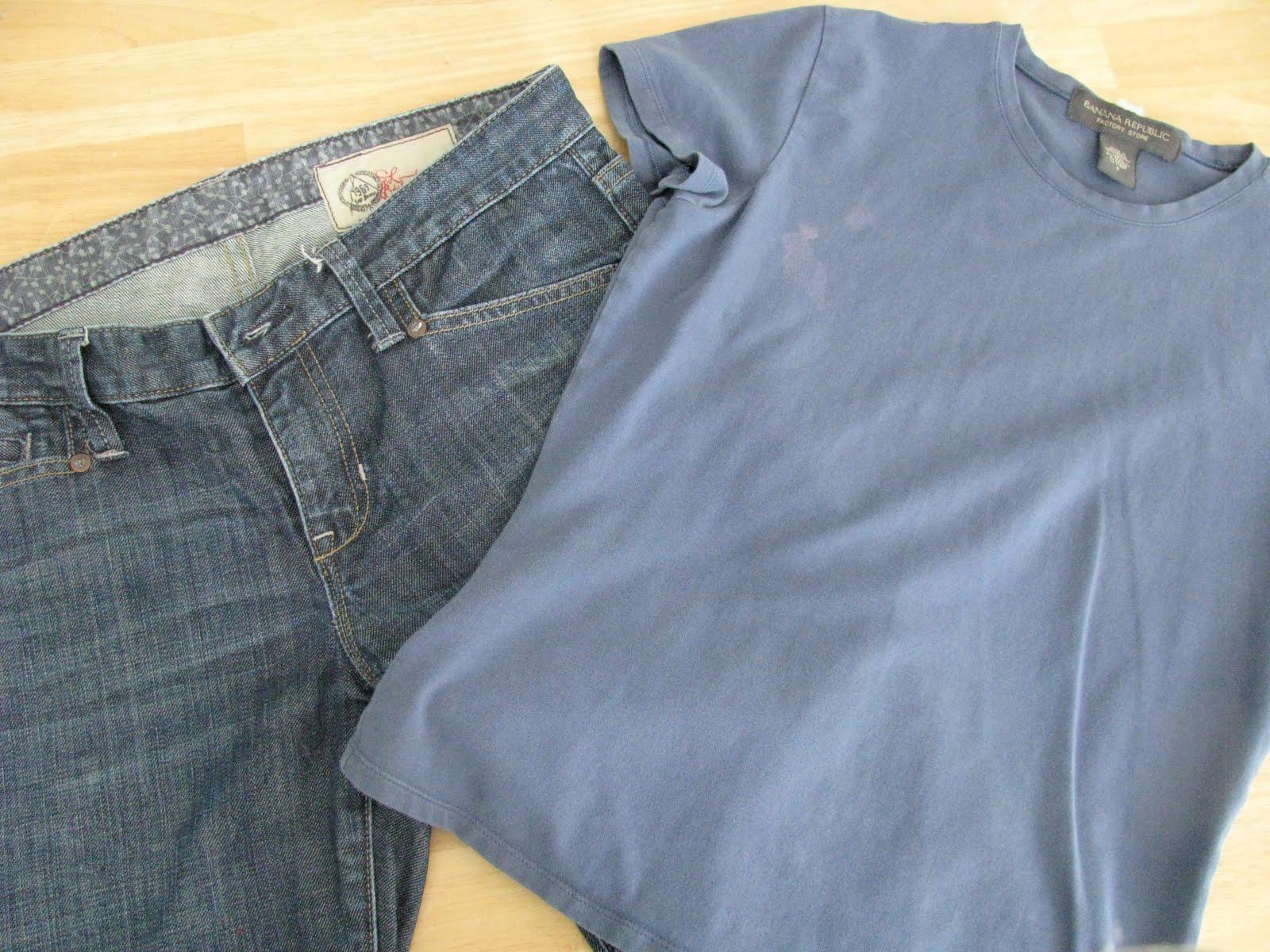 Шьём джинсы для беременных 10