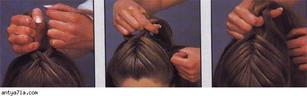 خطوات تضفير الشعر للبنات فى المدرسه وا الضفائر لفرنسيه بالصور %D8%A7