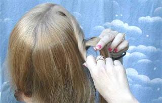 خطوات تضفير الشعر للبنات فى المدرسه وا الضفائر لفرنسيه بالصور 4859