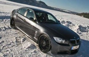 New Popular Car BMW 320d Winter Concept